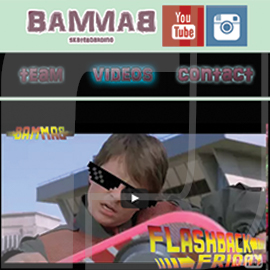 Bam Bam Skateboarding Website