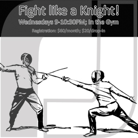 LRCC Fight Like a Knight Poster