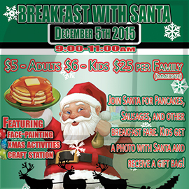 'Breakfast with Santa' | Lord Roberts Community Centre