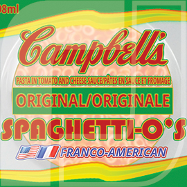 Spaghetti-o's Label Redesign