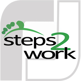 steps2work Logo