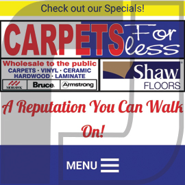 Carpets For Less Winnipeg