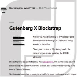 Blockstrapper Plugin for WordPress