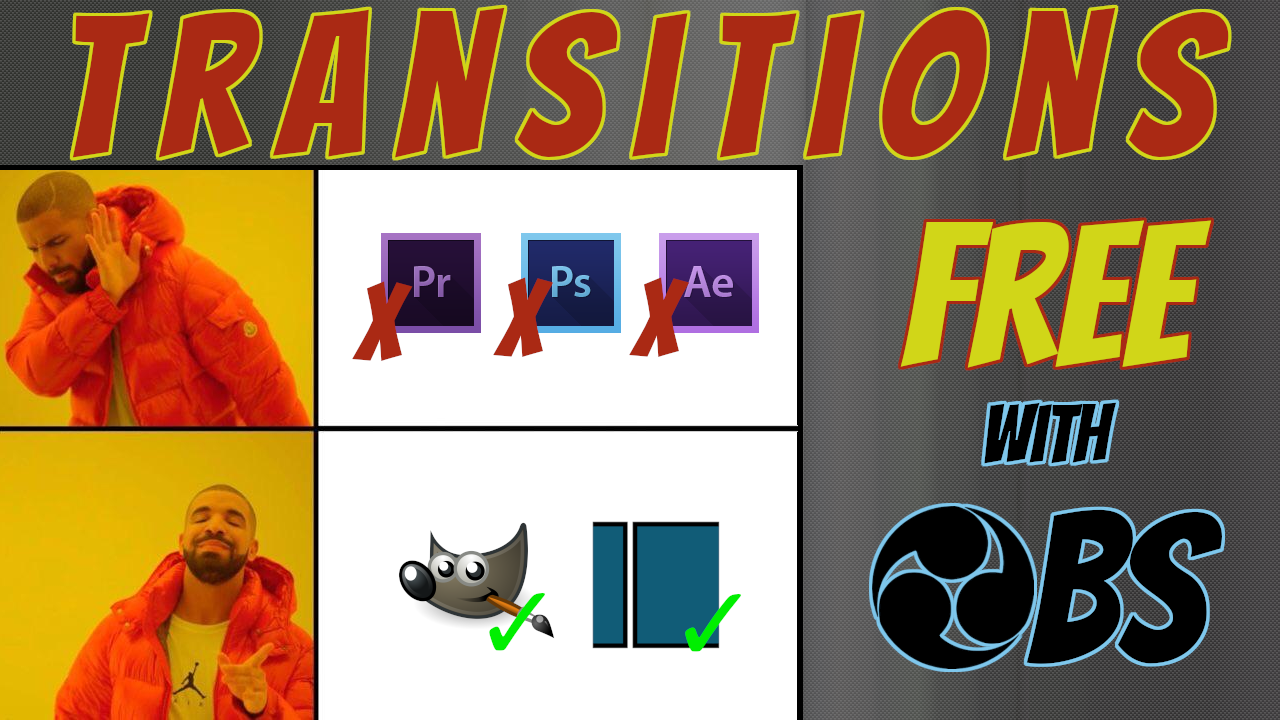 Tutorial Video Production | Make OBS Transitions For Free